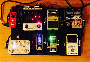 New smaller pedalboard