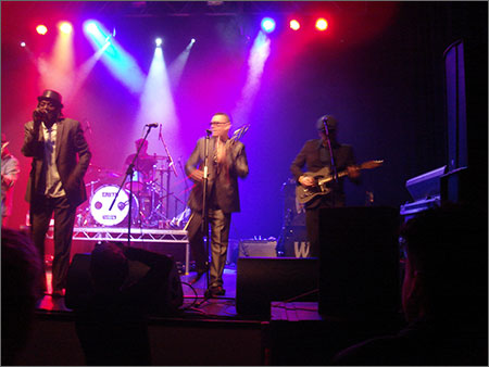 o2 Bournmouth Neville Staple Band