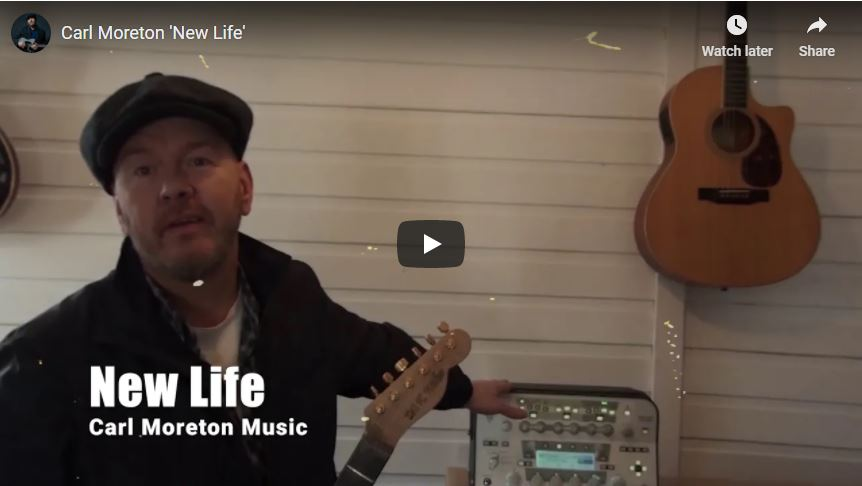 'New Life' Video by Carl Moreton